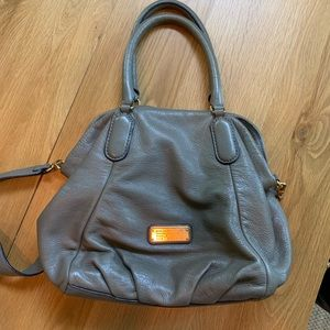Marc By Marc Jacobs New Q Fran Leather Bag